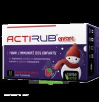 Santé Verte Actirub Sachets enfants - goût framboise à BOUC-BEL-AIR