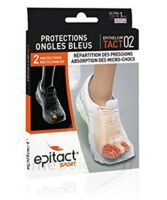 Epitact Sport Protections Ongles Bleus Epitheliumtact 02, Small à BOUC-BEL-AIR