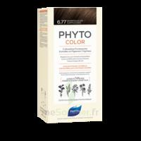 Phytocolor Kit Coloration Permanente 6.77 Marron Clair Cappuccino à BOUC-BEL-AIR