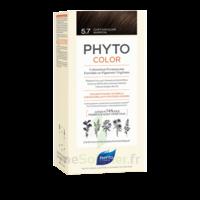 Phytocolor Kit Coloration Permanente 5.7 Châtain Clair Marron à BOUC-BEL-AIR