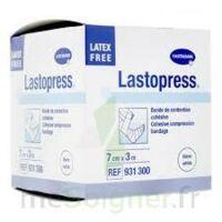 Lastopress® Bande De Compression Cohésive 7 Cm X 3 Mètres - Coloris Blanc à BOUC-BEL-AIR