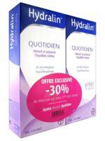 Hydralin Quotidien Gel lavant usage intime 2*200ml à BOUC-BEL-AIR
