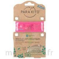 Para'kito Kids Bracelet Répulsif Anti-moustique Rose Pieuvre à BOUC-BEL-AIR