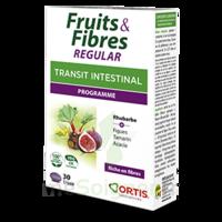 Ortis Fruits & Fibres Regular Comprimés 2*b/30 à BOUC-BEL-AIR
