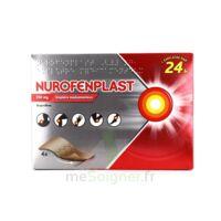 NUROFENPLAST 200 mg Emplâtre médic 4Sach à BOUC-BEL-AIR