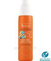 Avène Eau Thermale Solaire Spray Enfant 50+ 200ml à BOUC-BEL-AIR