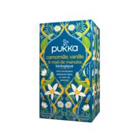 Pukka Bio Camomille, Vanille Et Miel De Manuka Tisane Relax 20 Sachets à BOUC-BEL-AIR