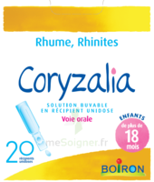 Boiron Coryzalia Solution buvable unidose B/20 à BOUC-BEL-AIR