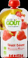 Good Goût Alimentation Infantile Fraise Banane 4 Gourdes/90g à BOUC-BEL-AIR