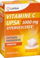 Vitamine C Upsa Effervescente 1000 Mg, Comprimé Effervescent à BOUC-BEL-AIR