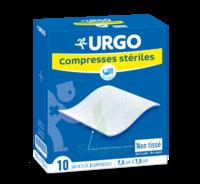 Urgo Compresse Stérile Non Tissée 10x10cm 10 Sachets/2 à BOUC-BEL-AIR